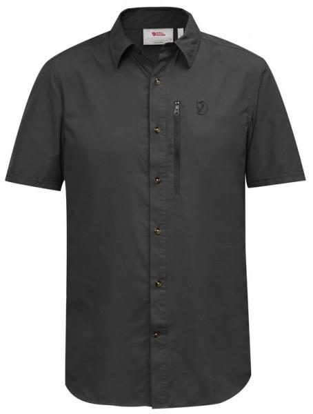 dark grey - Fjällräven Abisko Hike Shirt SS