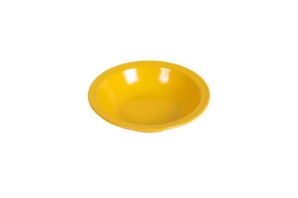 gelb - Waca Melamin Teller tief, Durchmesser 20,5 cm