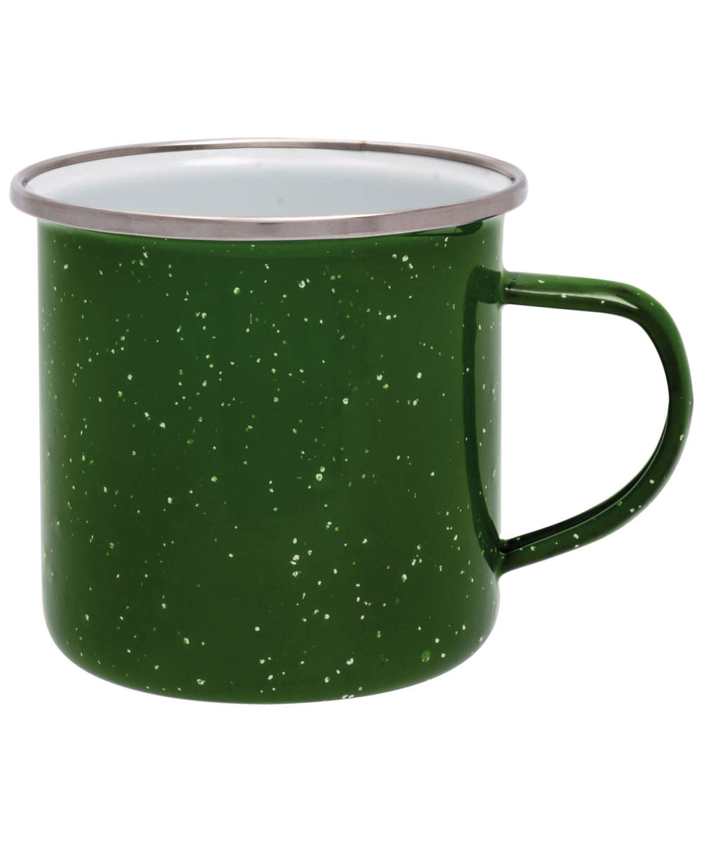 Origin Outdoors Emaille Tasse 360 ml grün
