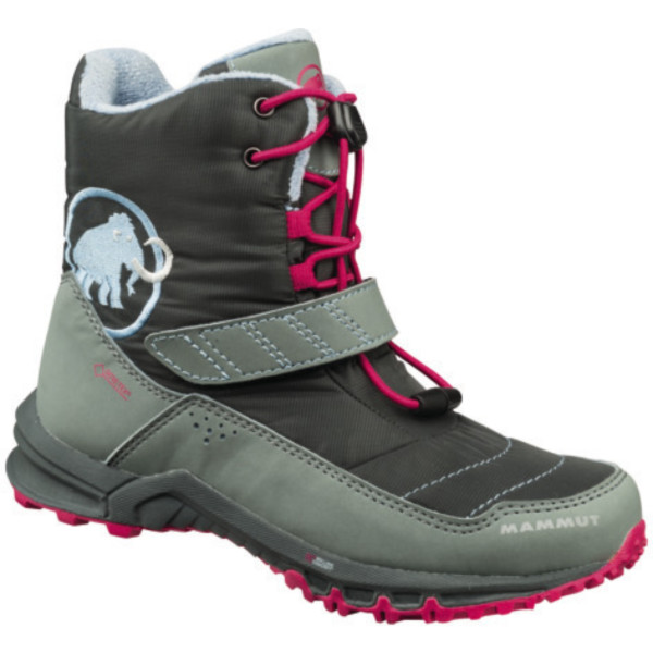 c6894105c08622 Mammut First High GTX Kids graphite grey 35