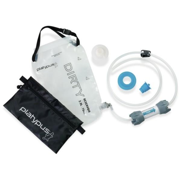 - Platypus GravityWorks 2.0 L Wasserfilter Flaschenkit