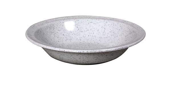 granit - Waca Melamin Teller tief, Durchmesser 20,5 cm