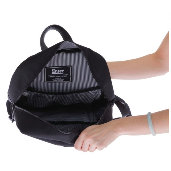 Innenansicht black - Enter Sports Backpack Lite
