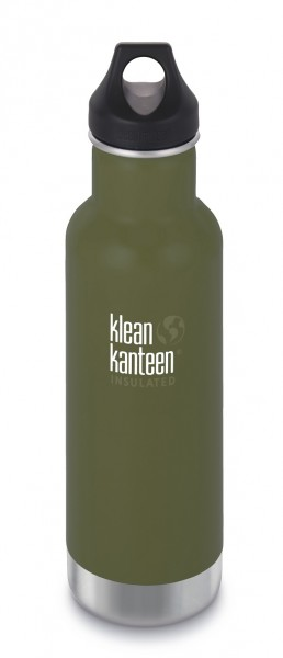 fresh pine matt - Klean Kanteen Classic Vacuum Insulated mit Loop Cap 592 ml