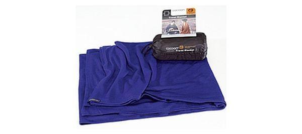 sapphire - Cocoon Merinowolle / Seide Travel Blanket