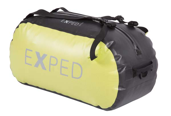 Exped Tempest Duffle 45 lime-black