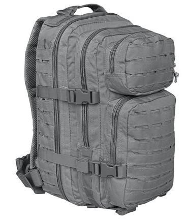 urban grey - Mil-Tec US Assault Pack SM Laser Cut