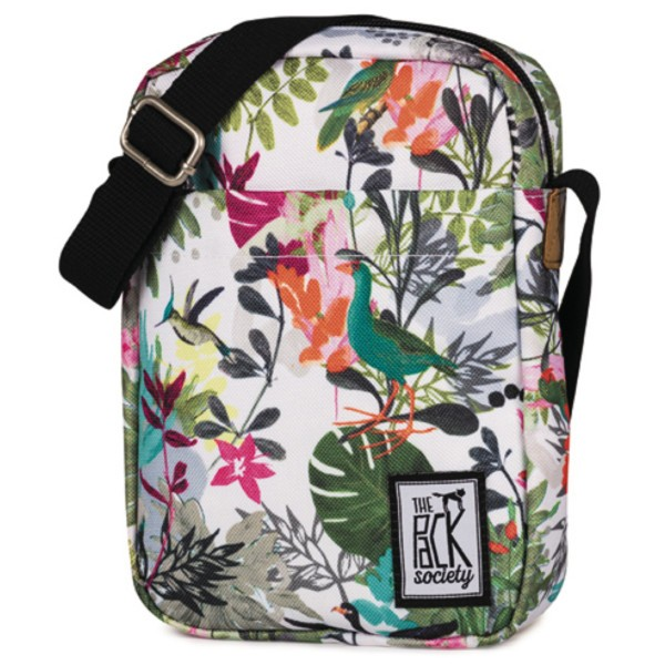 multicolor jungle allover - The Pack Society Small Shoulder Bag Cool Prints