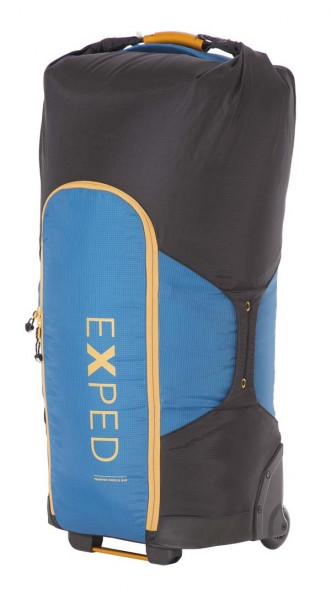 deep sea blue-black - Exped Transfer Wheelie Bag