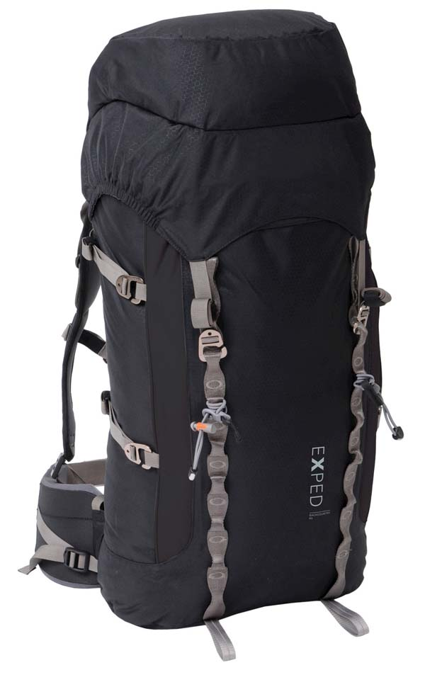 Exped Backcountry 65 black L