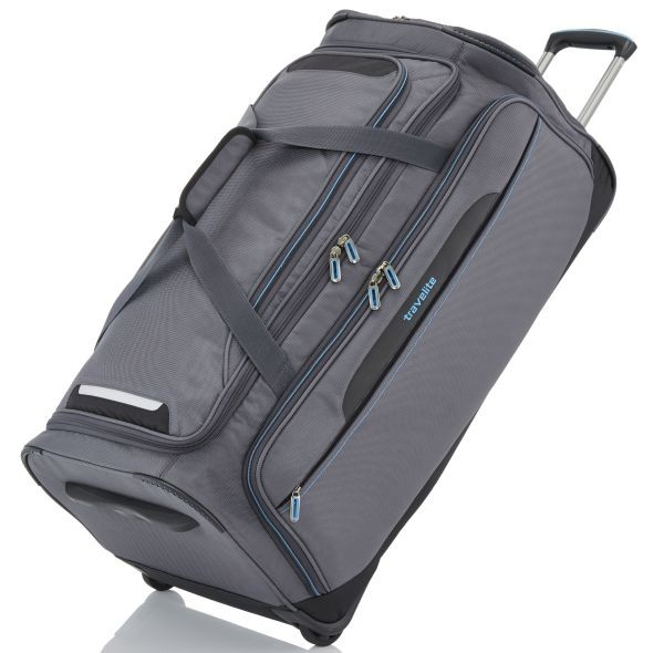 anthrazit - Travelite Crosslite Trolley Reisetasche L