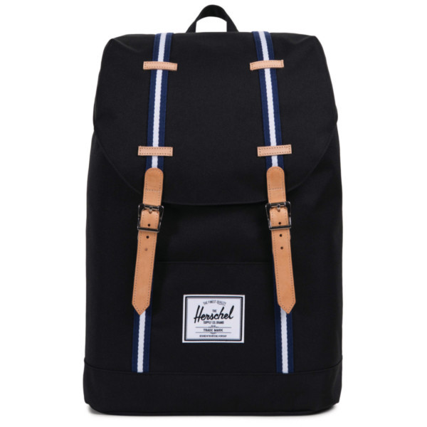 black/blueprint/white - Herschel Retreat Backpack
