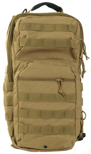 coyote - Mil-Tec One Strap Assault Pack Large