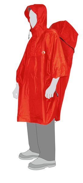 Tatonka Cape Men red M