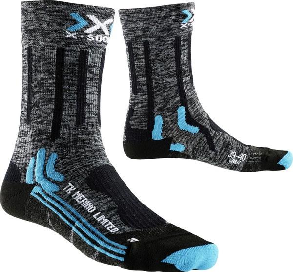 grey/black - X-Socks Trekking Merino Limited Lady