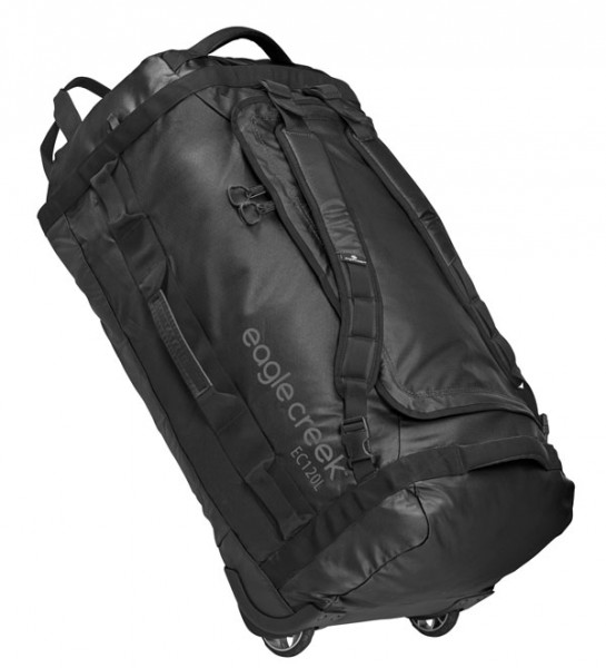 black - Eagle Creek Cargo Hauler Rolling Duffel 120
