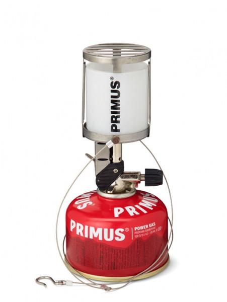 Primus Laterne Micron Glas mit Piezozündung