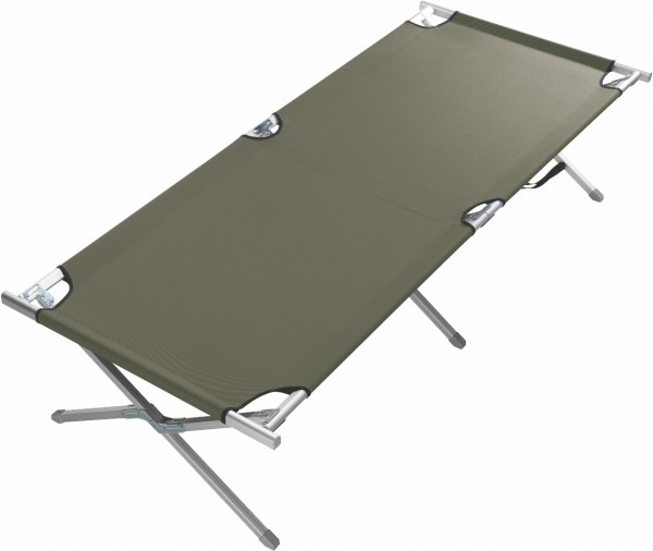 Grand Canyon Alu Camping Bed Extra Strong M olive