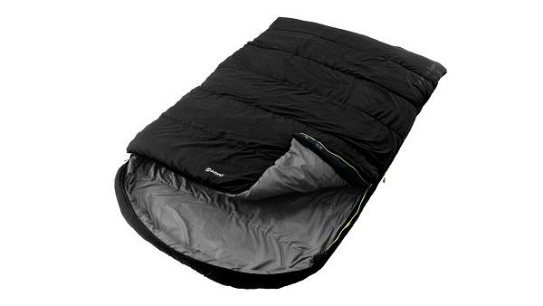Outwell Schlafsack Campion Lux, Double schwarz