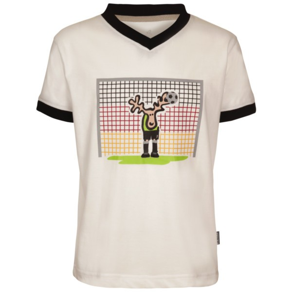 white - Elkline im tor Kinder T-Shirt WM