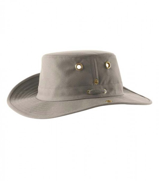 khaki - Tilley T3 Snap-up Hat