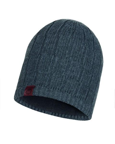 grey - Buff Knitted und Polar Fleece Hat Jeroen