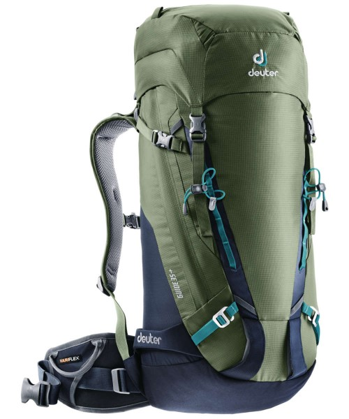 khaki-navy - Deuter Guide 35+