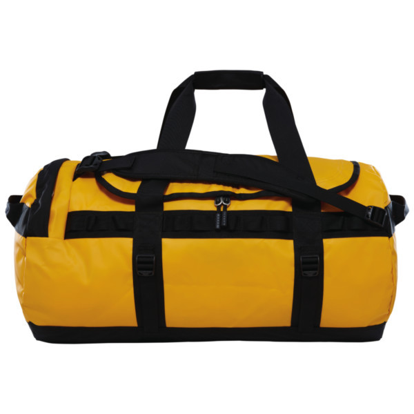 summit gold/tnf black - The North Face Base Camp Duffel M