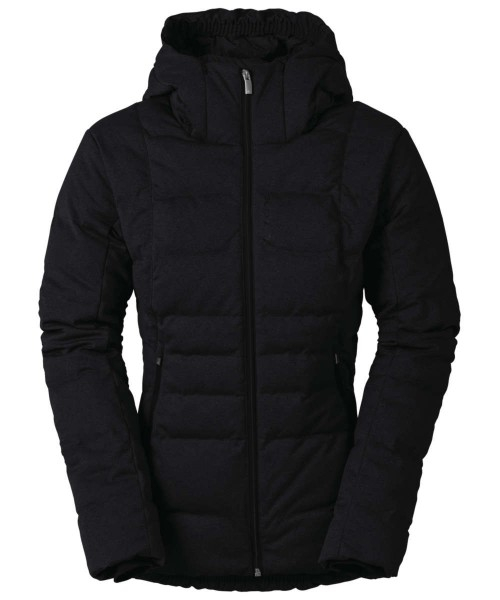 black - Vaude Womens Vesteral Hoody Jacket II