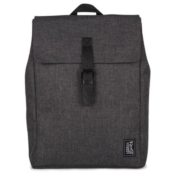dark grey duo tone - The Pack Society Square Backpack Commuter