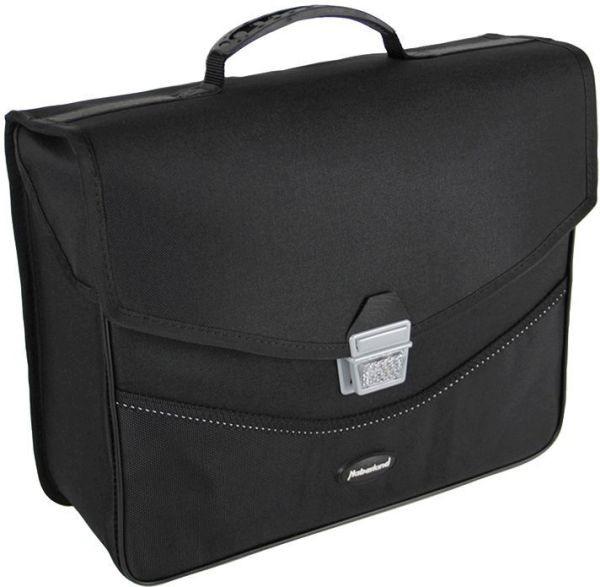 Haberland Einzeltasche Comfort ET2707 inkl. KLICKfix Twist2000-Schiene schwarz