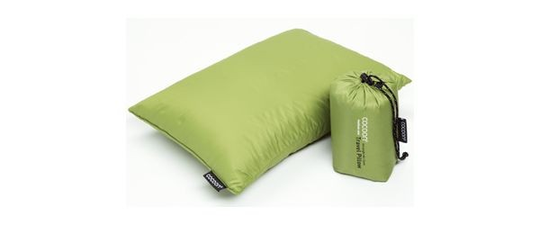 Cocoon Travel Pillow Daunen Füllung Travel Pillow Daunen 28x38 cm wasabi