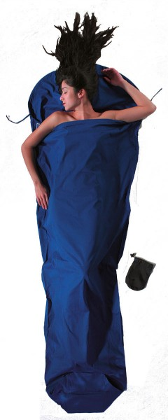 ultramarine blue - Cocoon Mummy Liner Baumwolle