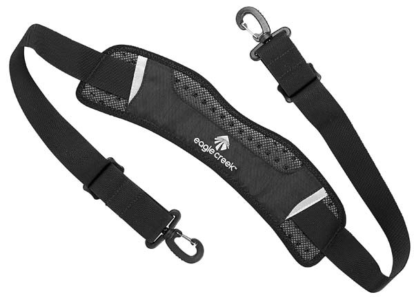 - Eagle Creek Maximum Comfort Ergo Shoulder Strap black
