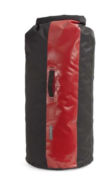 schwarz-rot - Ortlieb Packsack PS490, 109 L, ohne Ventil