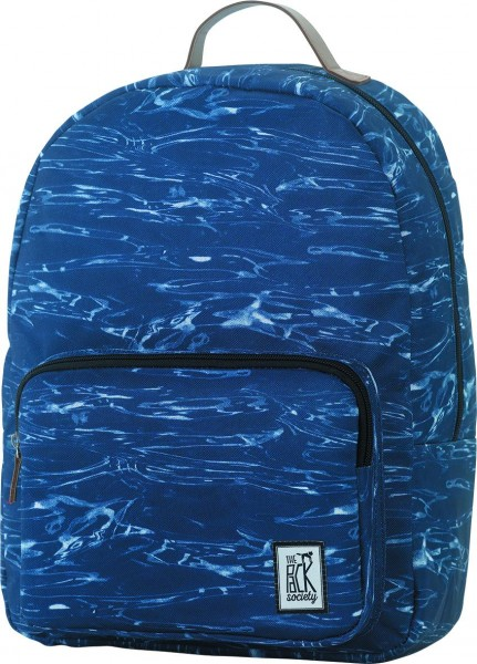 blue waves allover - The Pack Society Backpack Cool Prints