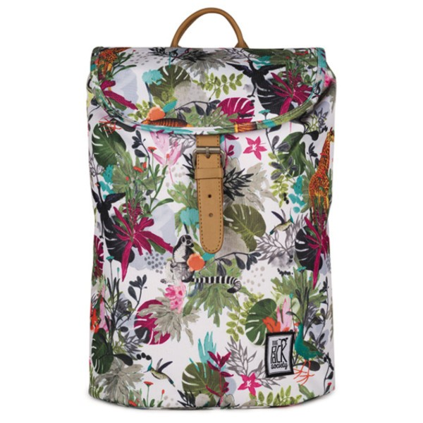 multicolor jungle allover - The Pack Society Small Backpack Cool Prints