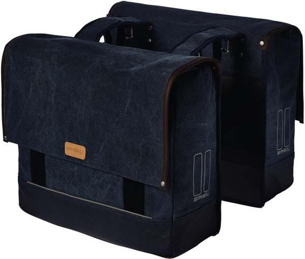 denim blue - Basil Urban-Fold Doppeltasche