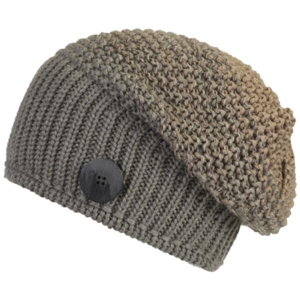 graumelange/beigemelange - Eisbär Fabienne OS Mütze