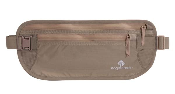 khaki - Eagle Creek Undercover Money Belt DLX