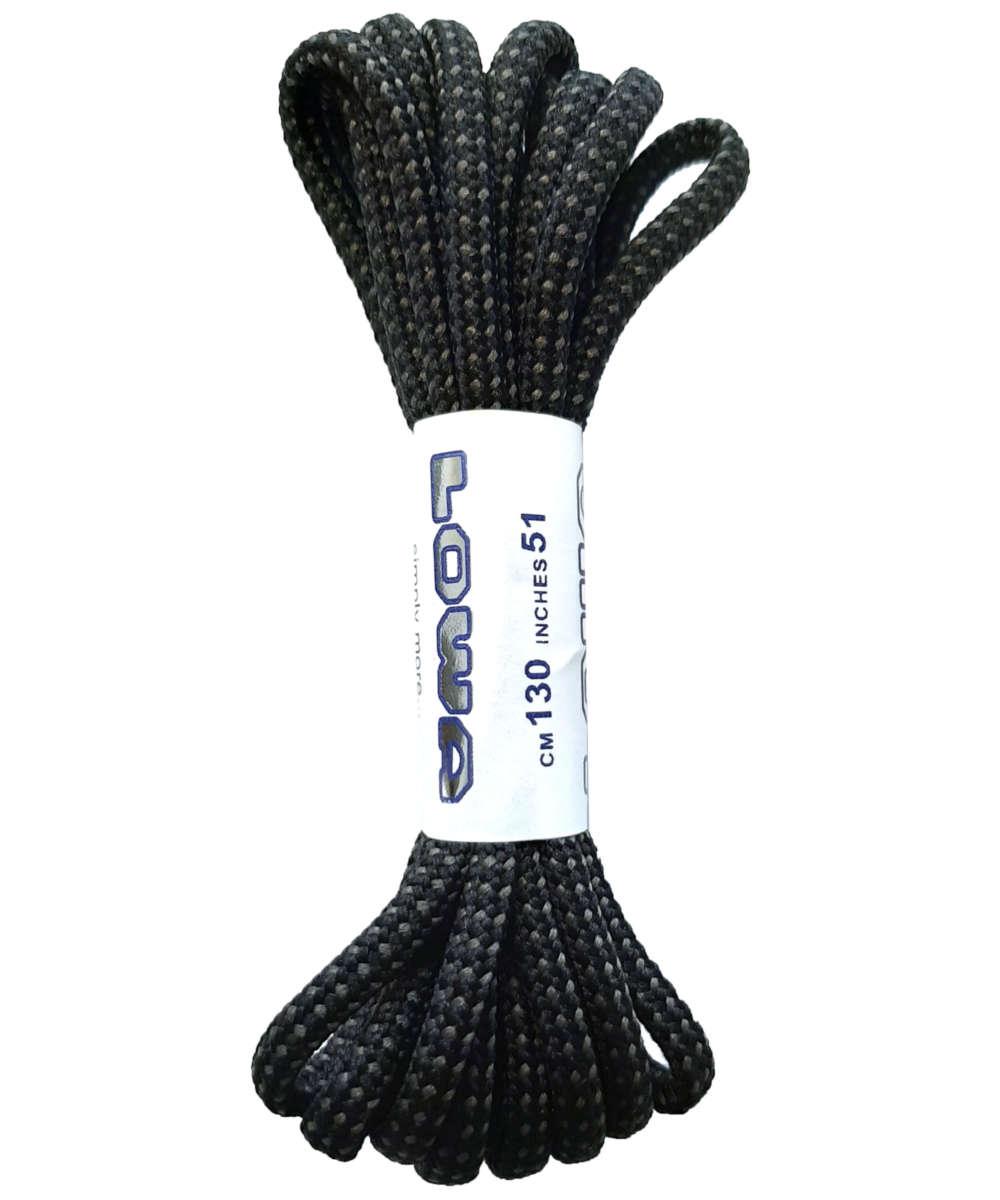 Lowa Schnürsenkel ATC MID 150 cm schwarz/grau