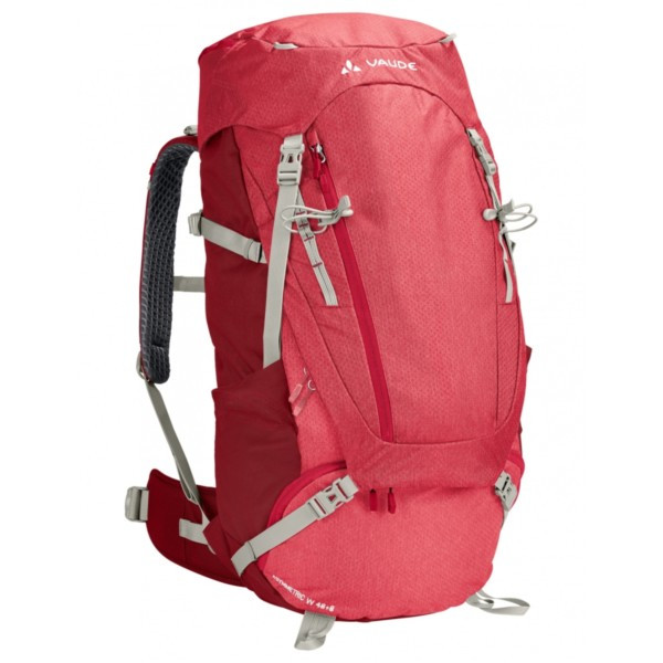 indian red - Vaude Women Asymmetric 48+8