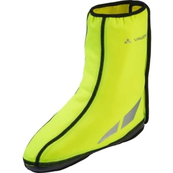 neon yellow - Vaude Shoecover Wet Light III