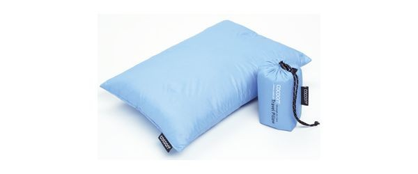 Cocoon Travel Pillow Daunen Füllung Travel Pillow Daunen 25x35 cm light blue